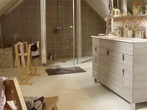 awesome parquet salle de bain leroy merlin photos With carrelage imitation parquet pour salle de bain