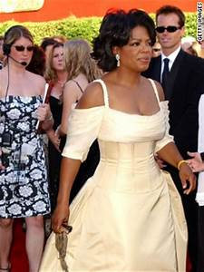 oprah winfrey looked regal in this canary yellow gown in 2002 With oprah winfrey wedding dress