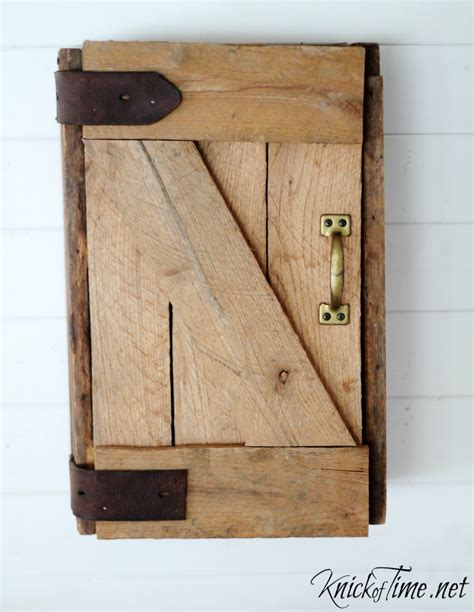 mini barn door hardware for cabinets diy barn door wall cabinet via knickoftime net barn