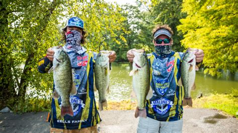 FLW Fishing - 2020 College Open Day 2 Weigh In Photos
