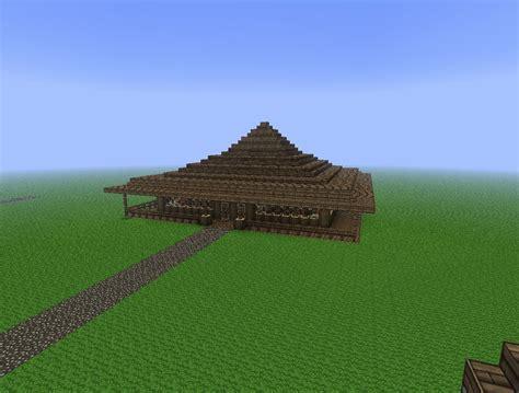 japanese style beach house  lol minecraft project