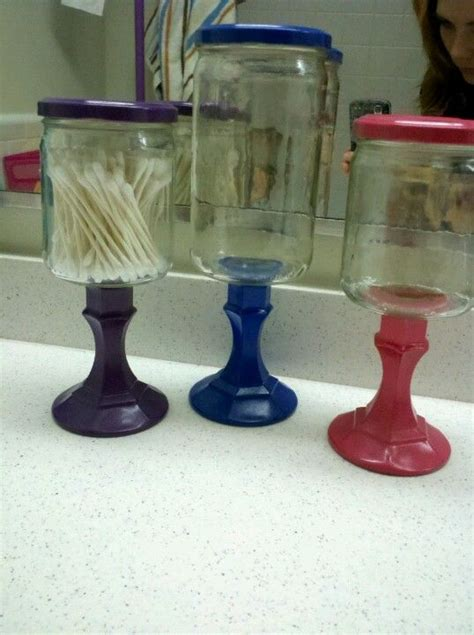 dollar tree candle holders salsa jar dollar tree candle stick holders and spray