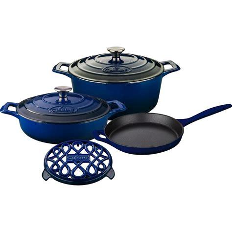 pro cuisine la cuisine pro 5 enameled cast iron cookware set