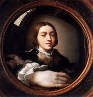 Parmigianino Self Portrait in Convex Mirror