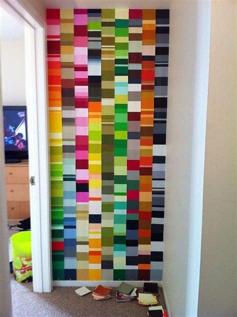 instant color paint chip walls repurpose reclaim