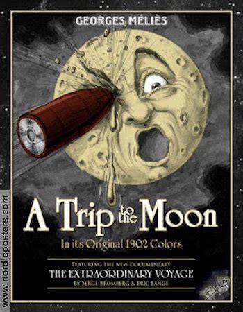 george melies poster le voyage dans la lune movie poster 1902 original