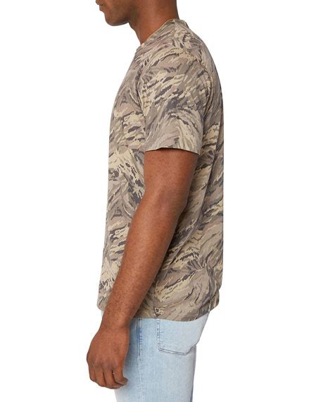 Echecks may also be accepted at select locations. J Brand Men's Zoomah Patterned Crewneck T-Shirt