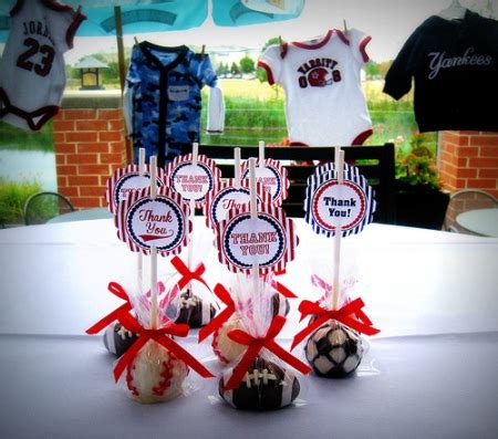 Baby Shower Baseball Theme Decorations - for the lil slugger baseball baby shower b lovely