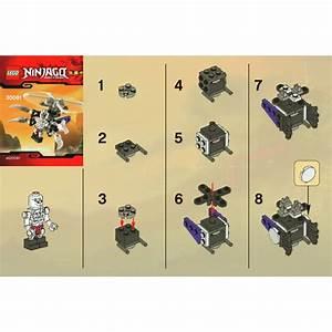 Lego Skeleton Chopper Set 30081 Instructions