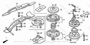 Honda Lawn Mower Parts Hrc216k3 Hxa Vin  Maka