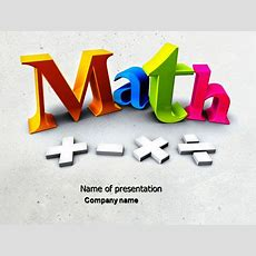 Math Powerpoint Templates And Backgrounds For Your Presentations Download Now Poweredtemplatecom