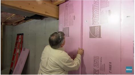 insulate basement walls diy projects craft ideas