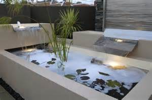 designer wasserspiele dadka modern home decor and space saving furniture for small spaces modern backyard water