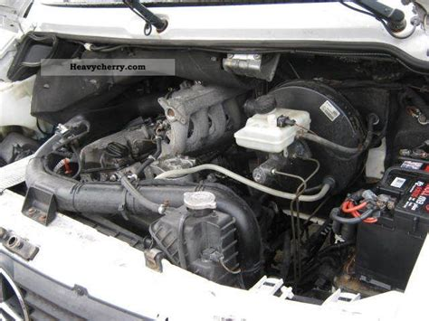 Mercedes Sprinter Engine by Mercedes Sprinter 312d Pritsche Plane At Engine