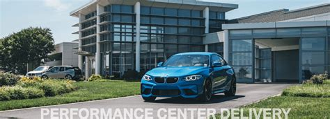 Bmw Complimentary Performance Center Delivery Package