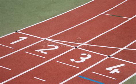 Running track start line stock photo. Image of race ...