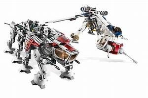 Lego 10195 Republic Dropship with AT-OT | Star Wars Lego ...