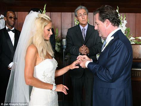 Piers Morgan and Paris Hilton say 'I do' in Las Vegas ...