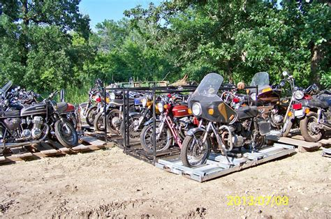 Suzuki Salvage Yard by Motorcycle Salvage Vintage Junk Yard Parts 300 Honda 750