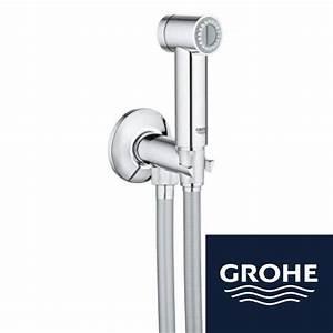 Toilettes Suspendues Grohe : toiletdouche trigger met stopkraan ~ Edinachiropracticcenter.com Idées de Décoration