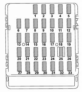 Subaru Forester  2009 - 2013  - Fuse Box Diagram