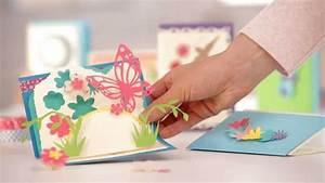 Geburtstagskarten Selber Machen Ausdrucken : basteln bei tchibo 3 d karten selbstgemacht so einfach geht 39 s youtube ~ Frokenaadalensverden.com Haus und Dekorationen