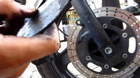 How To Replace Front Brake Pads On A Motorcycle