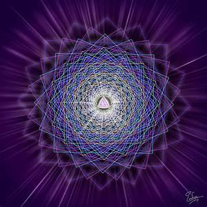 Sacred Geometry 145 Digital Art by Endre Balogh