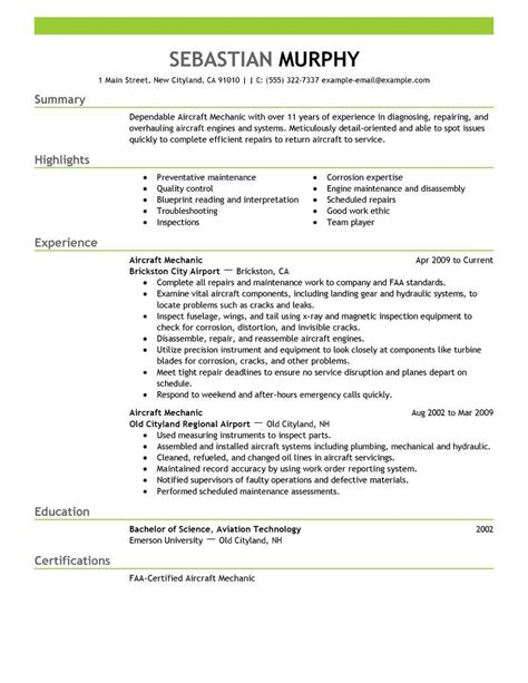 Airline Resume Format by Amazing Installation Repair Resume Exles Livecareer