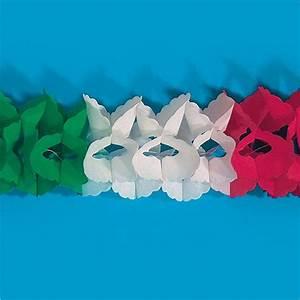 Guirlande En Papier Crépon : guirlande en papier cr pon mexique italie 4 m prix minis sur ~ Melissatoandfro.com Idées de Décoration