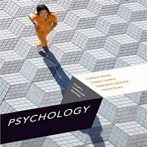 Psychology Canadian 4th Edition By Wade Tavris Saucier
