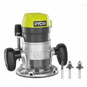 RYOBI 1-1/2 Peak HP Router Kit The Home Depot Canada