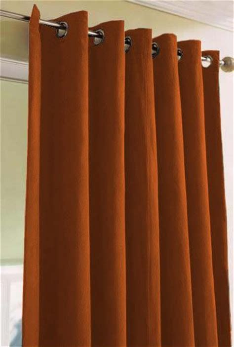 best 25 burnt orange curtains ideas on blue
