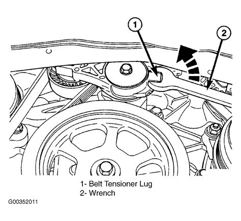 Chrysler Pacifica Serpentine Belt Routing Timing