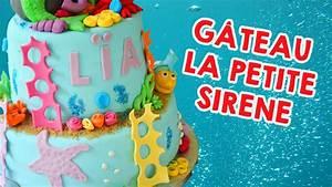 Little Petit Gateau Lyon : g teau la petite sir ne cake design youtube ~ Nature-et-papiers.com Idées de Décoration