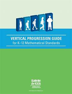 Vertical Progression Guide  Math K