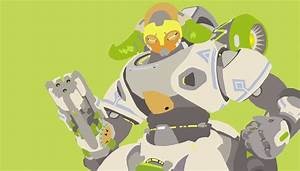 Minimalistic Orisa Overwatch Wallpapers