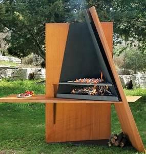Barbecue De Jardin : du design dans votre jardin avec ces barbecues ~ Premium-room.com Idées de Décoration