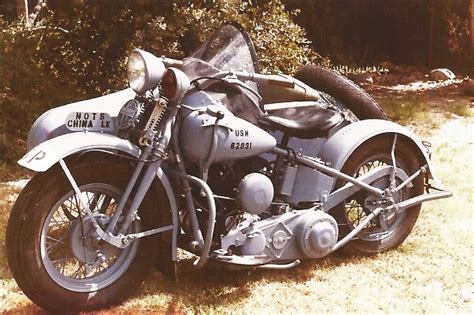 Post-wwii Surplus Harleys, Cheap Transports For