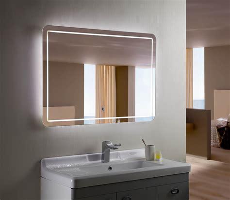 bellagio ii backlit mirror led bathroom mirror horizontal