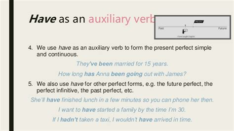 Have Main Verb Or Auxiliary Verb