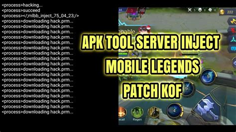 People don't know if their smartphone is android, bb, ios or windows phone. APK TOOLS SERVER INJECT MOBILE LEGENDS PATCH KOF