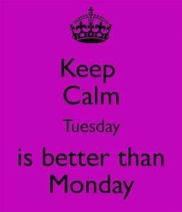 In Btween Thoughts: Because it's Tuesday...  Tuesday