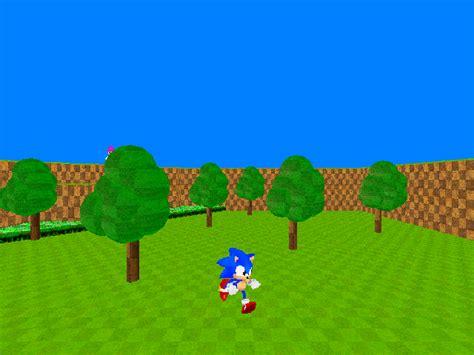sonic fan games online sonic the hedgehog 3d fan game d by triplesonicx on