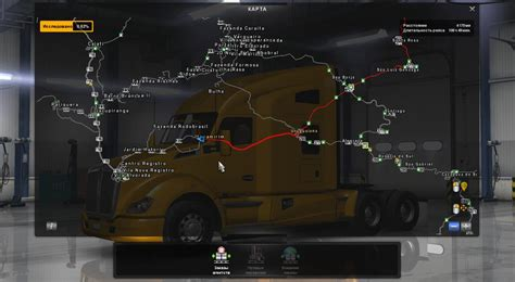 Ats Garage Locations by Fix For Megamap V1 4 Ats Mods American Truck Simulator