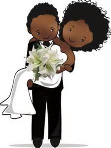 wedding makeup packages desenho de noivinhos negros para personalização de