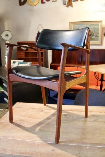 fauteuil en teck design danois erick buch ann 233 es 60