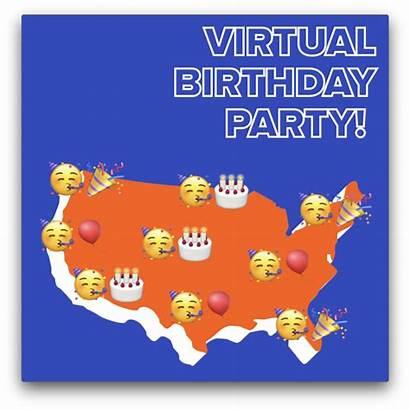 Virtual Party Sky Zone Birthday
