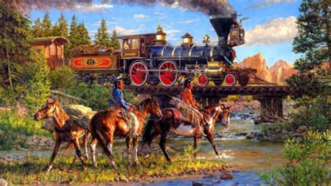 Old West Railroad - American Old West Wallpapers and ...