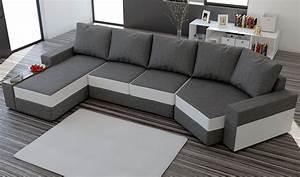 Canapé Convertible D Angle : photos canap d 39 angle gris chin convertible ~ Teatrodelosmanantiales.com Idées de Décoration